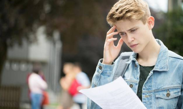 What can students do if they fail their GCSEs?